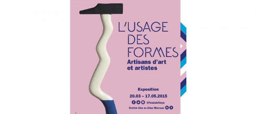 """""""L'usage des formes"""" exhibition, Palais de Tokyo, Paris, 2015"""