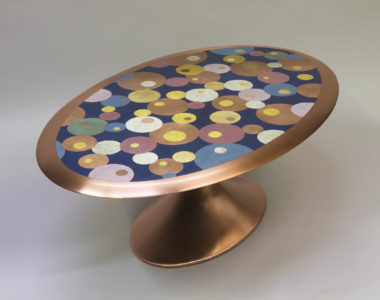 """Oval"" coffee table"
