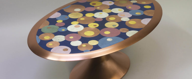 """""""Oval"""" coffee table"""